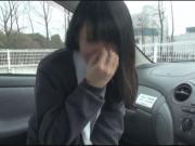 【個人撮影】ウブな黒髪女子高校生に暴発!お顔に大量ザーメンぶっかけ映像(1)