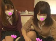 【個人撮影】おバカ女子校生が友達つれてきた〜!エロ●アル女子校生バカ全開映像(1)